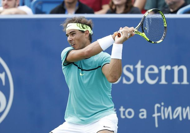 Nadal Advances to Round of 16 in Cincinnati