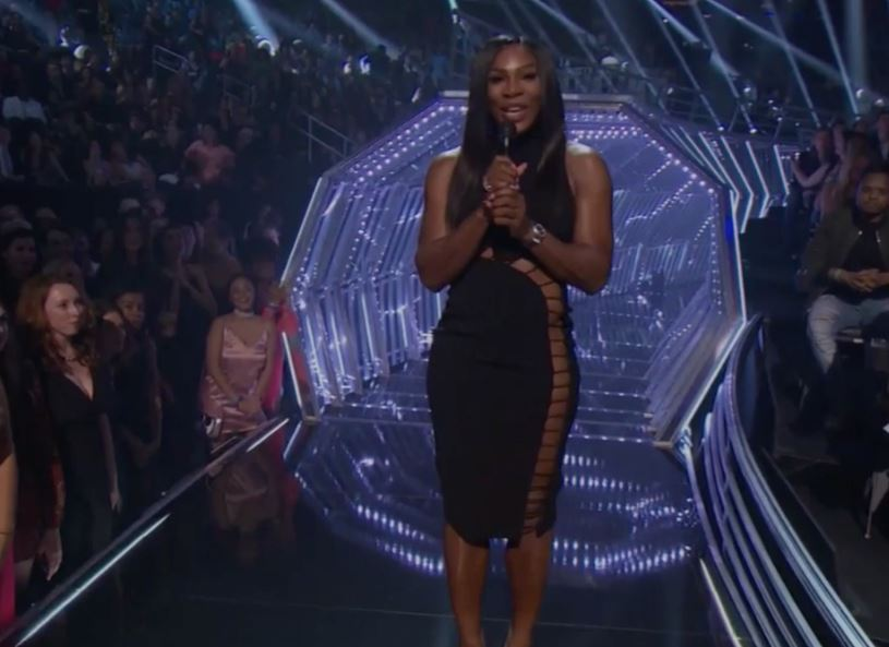 Watch: Serena Takes the Stage at MTV's VMA Awards