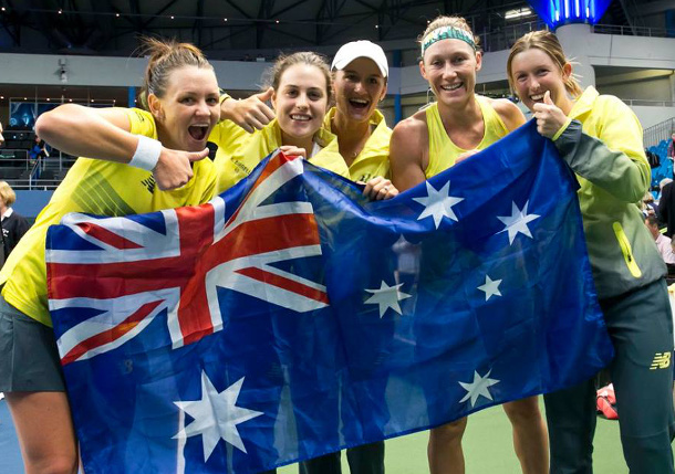 Australia to host USA in Fed Cup Playoffs