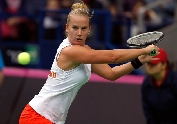Hogenkamp Wins Longest Ever Fed Cup Match Over Kuznetsova