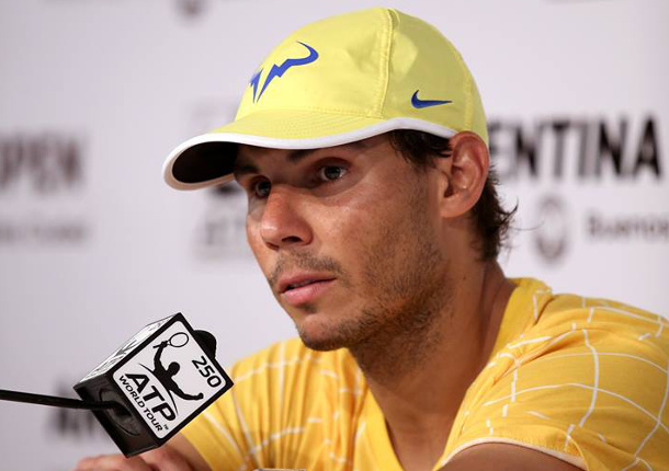 Nadal on Expectations and Federer's Injury