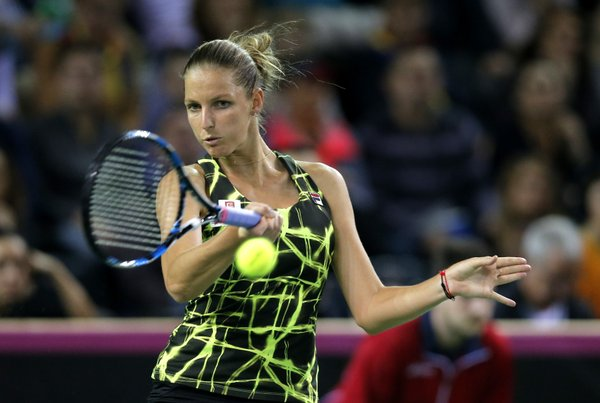 Pliskova Lifts Czechs Over Romania in Fed Cup