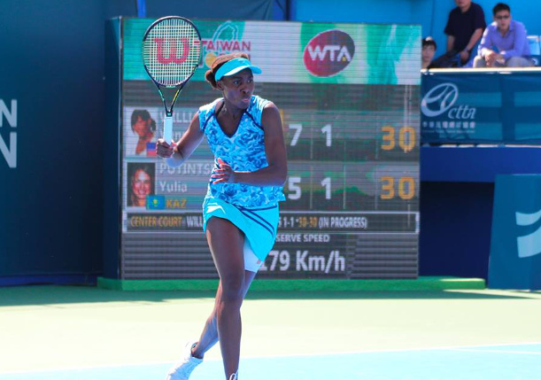 Venus Vs. Doi in Taiwan Open Final