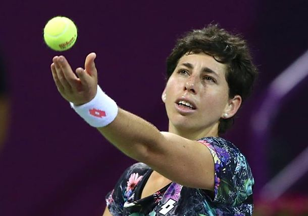 Suarez Navarro Fights Back to Claim Doha Title