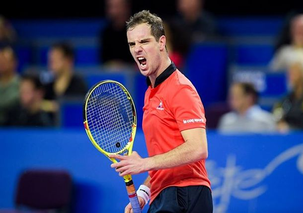 Gasquet Wins Third Montpellier Title
