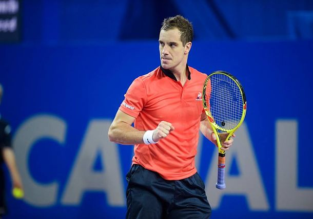 Gasquet Sets All-French Final in Montpellier