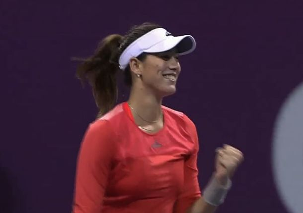 Muguruza Reaches Doha Quarterfinals with Win over Babos