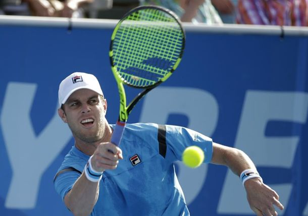 Querrey Ends Title Drought with Win over Ram in Delray Beach