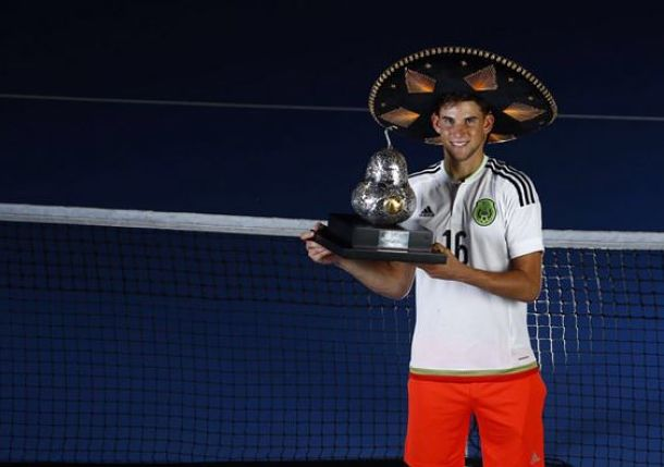Thiem Claims Second Title of '16 in Acapulco