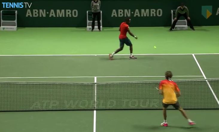 Watch: Too Cool for School Monfils Tutors Zverev