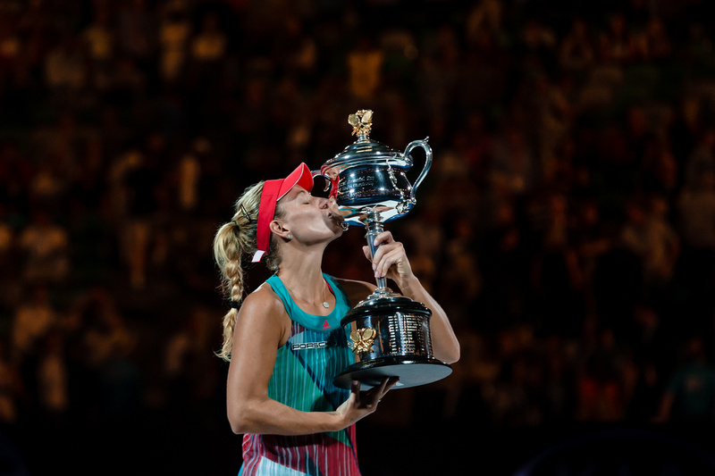 Kerber Upsets Serena in Three Set Thriller to Win AO Title