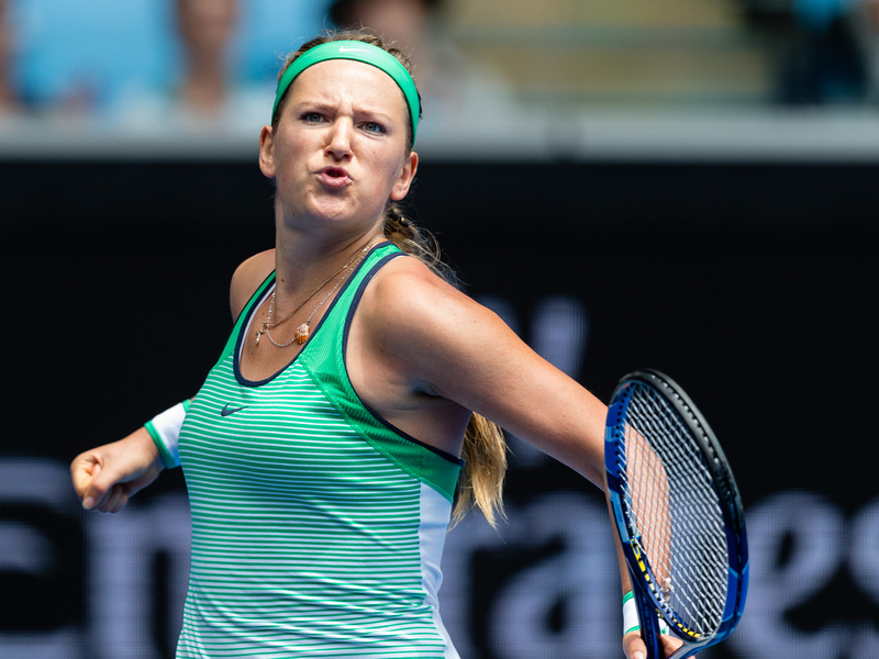 Azarenka Creates AO Quarterfinal Clash With Kerber