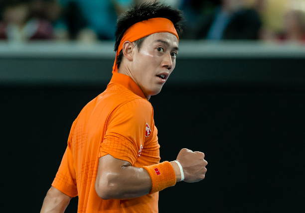 Nishikori Shreds Tsonga to Reach Oz Open Quarterfinals