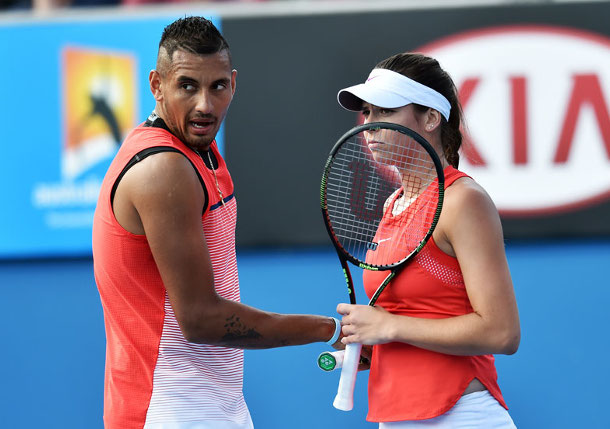 Tomljanovic Deletes Kyrgios