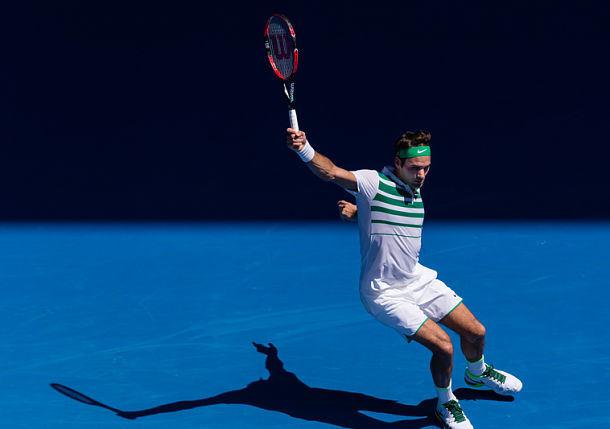 Federer Aces Past Dolgopolov and into Third Round