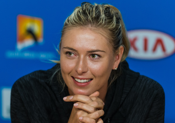 Sharapova Set For Madrid Exhibition