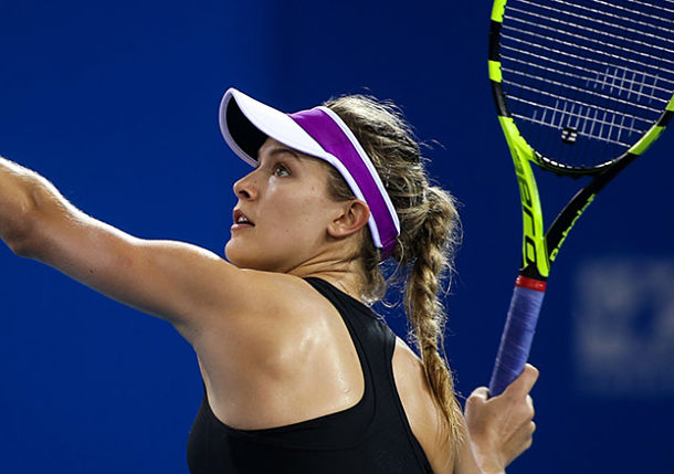 So Far, So Good for Genie Bouchard