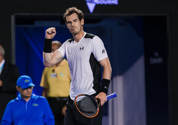 Murray outlasts Raonic in Spirited Five-Setter
