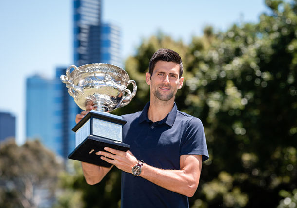 Hungry Like the Wolf, Djokovic Refuses to Relax