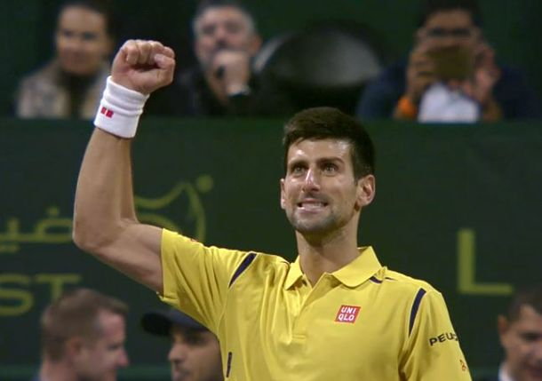 Djokovic Tames Berdych Again, Sets Nadal Final in Doha