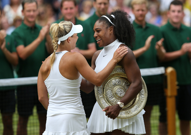 Serena Stops Kerber in Wimbledon Final for 22nd Grand Slam Crown