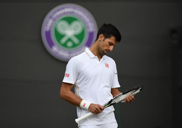 In Dire Straits, Djokovic Saved by the Rain