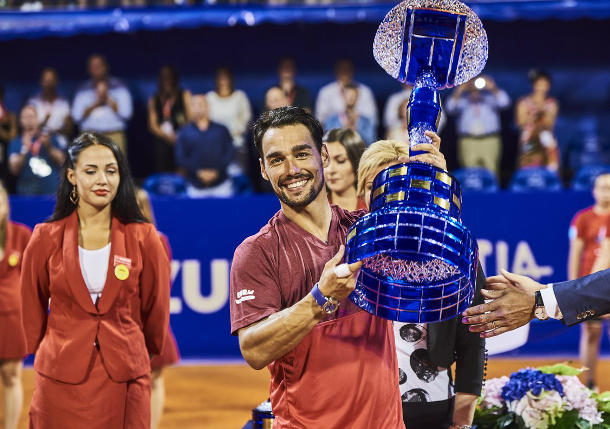 Fognini Claims Fourth Title in Umag