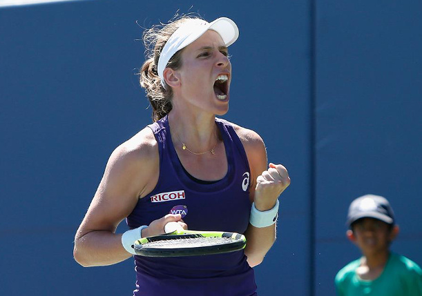 Konta Thwarts Venus For First Title in Stanford