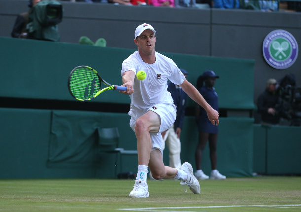 Querrey Backs Up Upset Reaching First Major Quarterfinal