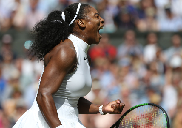 Serena Routs Vesnina, Rolls Into Ninth Wimbledon Final