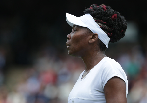 Heartbroken Venus Shows Focus in Wimbledon Win