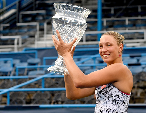 Wickmayer Sweeps Singles and Doubles Titles in D.C.