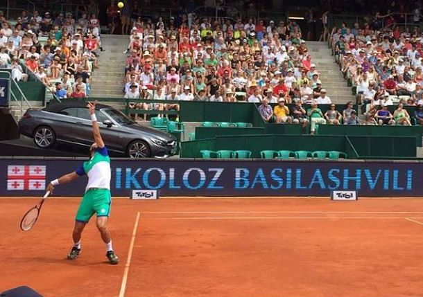 Basilashvili Becomes Georgia's First ATP Finalist