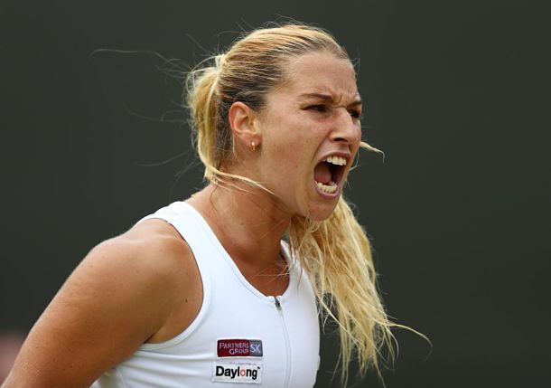 Cibulkova Edges Radwanska in Manic Monday Thriller