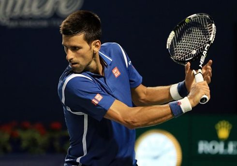 Djokovic Stymies Monfils in Toronto