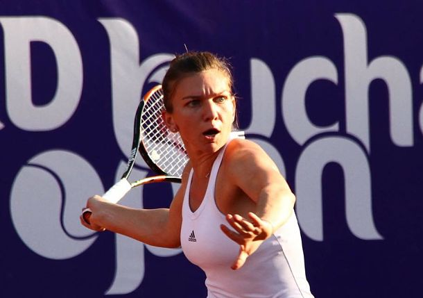 Simona Halep storms to victory in Bucharest Open final