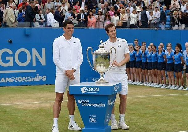 Murray vs. Raonic Wimbledon Final, By the Numbers
