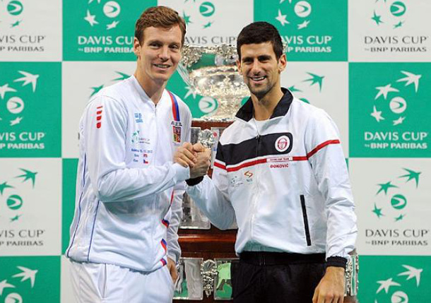 Djokovic, Berdych Disagree on Proposed Davis Cup Change
