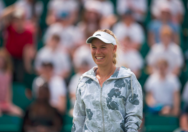 Wozniacki Wins in Nottingham Return