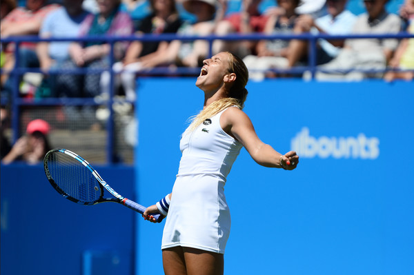 Cibulkova Wins First Grass Court Title in Eastbourne Over Pliskova