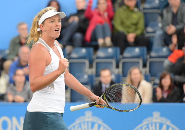 Vandeweghe Topples Top-Seeded Radwanska