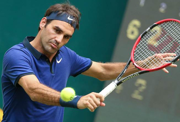 Federer Subdues Goffin, Reaches 12th Halle Semifinal