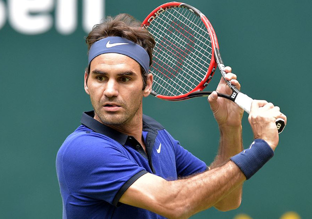 Federer Earns 1,100th Career Win In Halle
