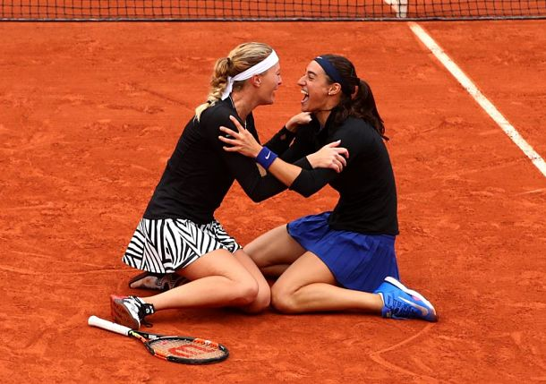 Garcia and Mladenovic Bring Home Doubles Title in Paris