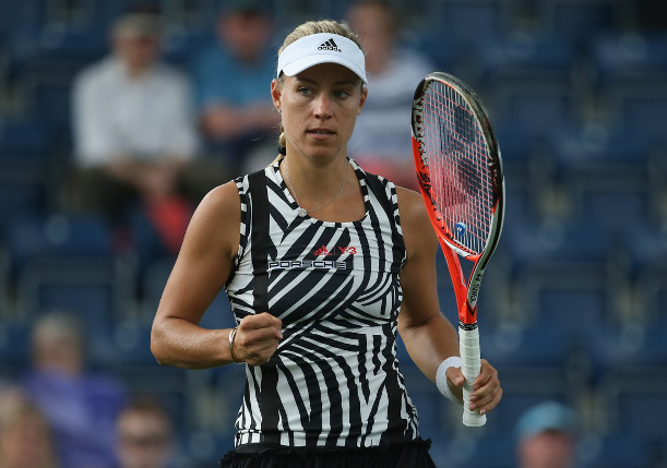 Kerber, Kvitova Advance in Birmingham