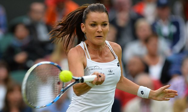 Radwanska Saves Three Match Points as Konjuh Falls