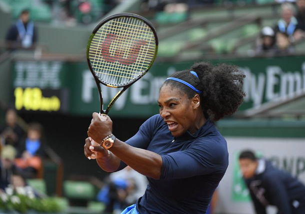 Serena Rallies Past Putintseva, Reaches RG Semifinals
