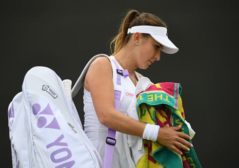 Bencic Retires with a Wrist Injury on Day 4