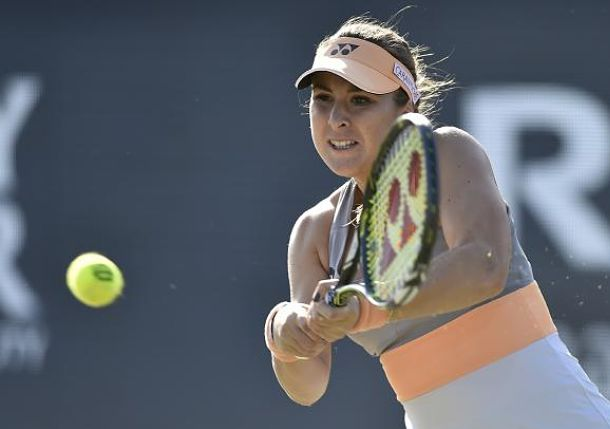 Top-Seeded Bencic Powers into Ricoh Open Semis
