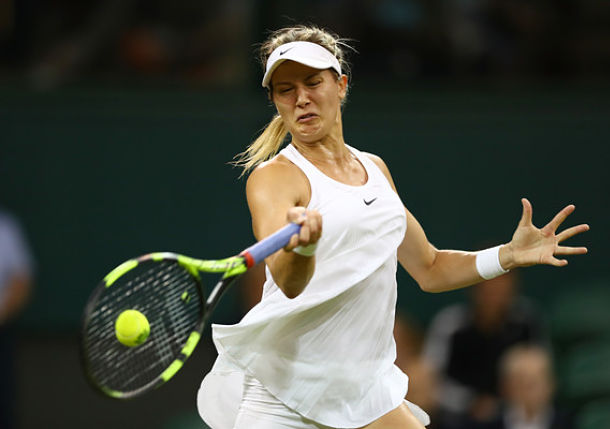Bouchard Thrilled to Be Back at Wimbledon's Centre Court